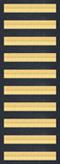 Ten Overseas Service Bars