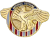Army Honorable Service Lapel Pin (1920-1939)