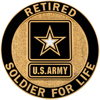 Army Retired-Soldier for Life