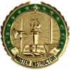 Master Army Instructor Badge
