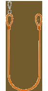 Netherlands Orange Lanyard