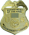 US Army Counterintelligence Special Agent Badge